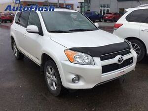 2012 Toyota RAV4 Limited V6 AWD/4x4 *Cuir/Leather* Toit/Roof *Na