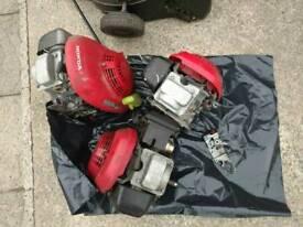 2 honda lawnmower engine's