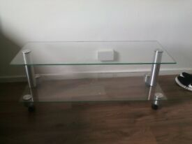 Small glass table