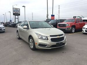 2015 Chevrolet Cruze LT One owner, accident free