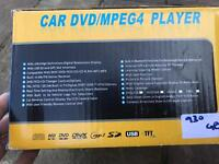 Car DVD/MPEG player
