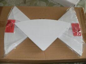 SET OF 3 'MAGIC' CORNER SHELVES (Brand New & Boxed)