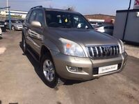 2005 Toyota Land Cruiser 3.0 D-4D LC5 5dr SAT/NAV+SUNROOF+MANUAL+8SEATS