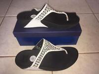 Fit flop ladies sandals, size UK 7