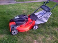 "173 cc Husqvarna 22"" self propelled mower"