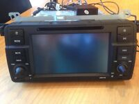 eonon gm5150 car stereo with gps/dvd/cd/ taken out of my bmw m3 cost over £275 bargain £120ovno