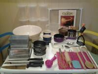 """FORTY ESSENTIAL KITCHEN ACCESSORIES FOR """"BAKING"""" AND """"COOKING"""""""