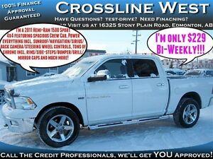 2011 Dodge Ram 1500 Sport | V8 HEMI | SiriusXM | Sunroof | Edmonton Edmonton Area image 1