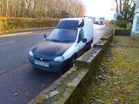 Vauxhall combo van 1.7 spares or repair