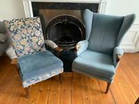 Set of 2 Parker Knoll Armchairs