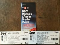 2 x RADIO 2'S Festival in a day Tickets in Hyde Park - 11th September