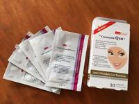 Max 2 co-enzyme Q10 under eye patches.