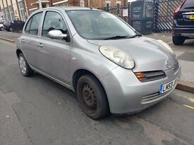 NISSAN MICRA 2003 SE AUTOMATIC 1.2 LOW MILEAGE NEEDS FINISHING 5 DOOR