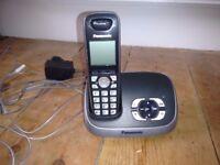 Panasonic landline phone and answer machine