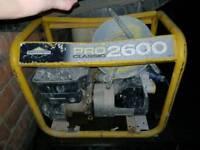 Briggs & stratton petrol generator