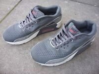 Grey Nike Air Max Trainers - Size UK 9 / EUR 43 - Great Used Condition - Only Worn A Couple Of Times