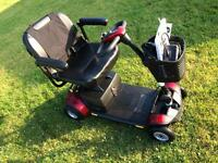 Pride go go elite traveller plus boot scooter in immaculate condition .