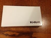 Kickers leather wallet