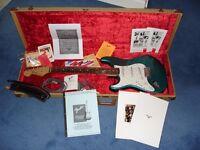 Left Handed Fender Custom Shop '62 Stratocaster