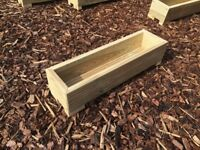 1 foot decking planter