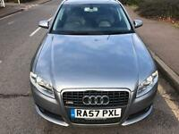 STUNNING CONDITION S-LINE 2008 AUDI A4 AVANT 2.0 TDI AUTO,DRIVES LIKE NEW,FULL LEATHER,FULL HISTORY