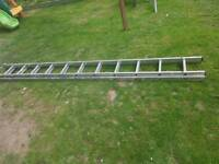 2 Section Aluminium Ladder 5.98m