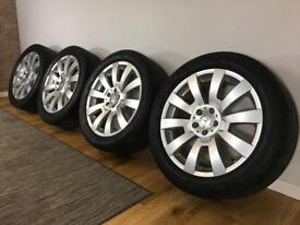 "Genuine set of Mercedes GLK 19"" Wheels And Tyres. 5x112. X204. A2044011502"