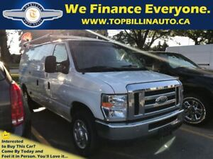 2011 Ford E-150 Commercial Cargo Van with Roof Rack, 197K
