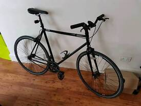 Feral fixed gear bike, large frame.