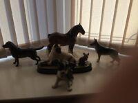 Beswick and sylvak animals