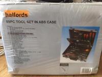 Halfords 89 piece tool set brand new and unused