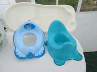 Baby Bath and Toilet Training Set