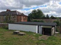 Secure Workshop and Storage Yard Netherlee