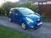 12 CHEVROLET SPARK LT £30 ROAD TAX