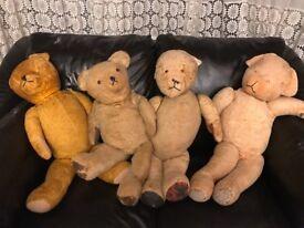 Vintage teddy bears large