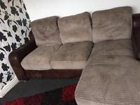 Corner sofa £50ono