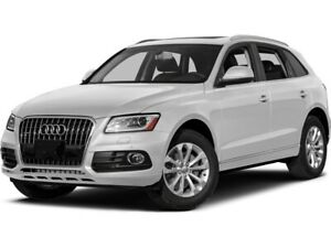 2017 Audi Q5 2.0T Progressiv ACCIDENT FREE
