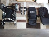 iCANDY APPLE 2 PEAR PUSHCHAIR + EXTRA SEAT ADDED!!