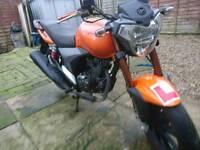 Keeway rkv 125 cc