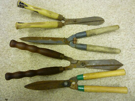 Vintage Garden Shears......All four for £20