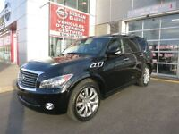 2012 Infiniti QX56 4WD  deluxe touring theatre package w/GPS+SUN