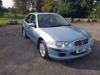 2003 Rover 25 1.6 petrol full black leather