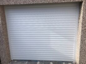 garage door , roller shutters, miss measured, second hand , slightly damaged, ex display