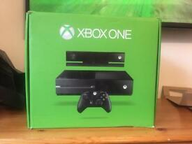 Xbox One 500gb console with Kinect + games