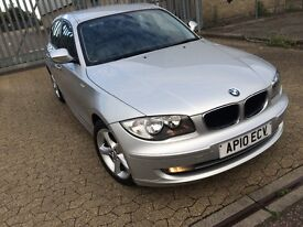 BMW 116i sport, 2010, petrol, 1 series, 5 doors hatchback, 1 year mot,full service history,HPI clear