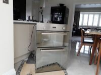 HOTPOINT DOUBLE GAS OVEN - BUILT IN