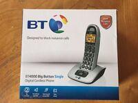 B.T 4000 Digital cordless phone.