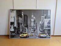 IKEA NEW YORK TIMES SQUARE PRINT READY TO HANG 100 cm x 140 cm x 3cm
