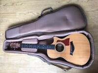 Taylor Acoustic Guitar 312ce +case and strings