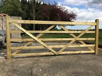 Field or Drive Gate 3m - brand new
